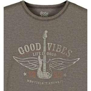 Flying Guitar Rhythm S/s Tee Shirt   Mens: Sports