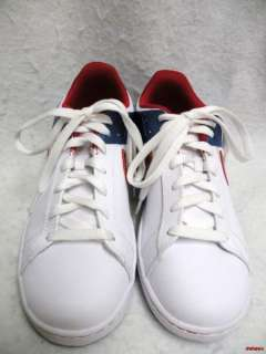Retro Look Red,White and Blue Nike Shoes 6.5 (Y) Worn Once LN