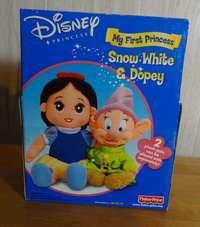 ~ DISNEY MY FIRST PRINCESS ~ Snow White and Dopey Dolls ~NEW IN BOX