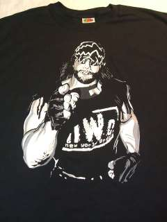 MACHO MAN Randy Savage nWo T shirt NEW