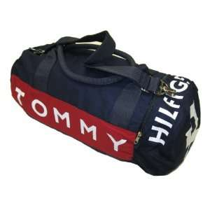 Tommy Hilfiger Big Logo Duffle Bag (Navy): Clothing