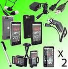 10in1 Accessory Case Charger Cable For Motorola Droid X