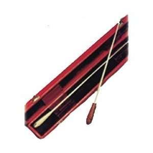Donato Baton Hard Case (Black Leather Cover 2 Baton Case