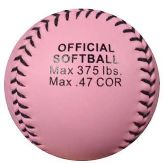 FINCH AUTOGRAPHED SIGNED PINK DUDLEY SOFTBALL #27 USA PSA/DNA