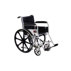 Everest & Jennings Vista II Wheelchair   18 Wide x 16 Deep, Fixed Arms