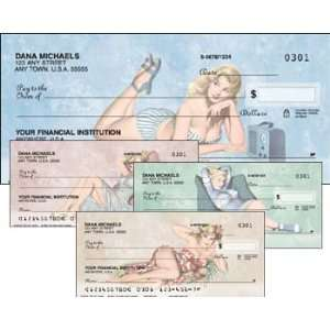 Vintage Pin Ups Address Labels: Office Products