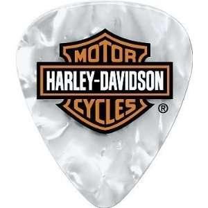 Dunlop Harley Davidson Pearloid Guitar Picks 6 Pack (Heavy