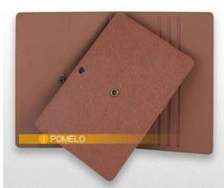 Asus Eee Pad Transformer TF101 360 Leather Case Cover Protector Brown