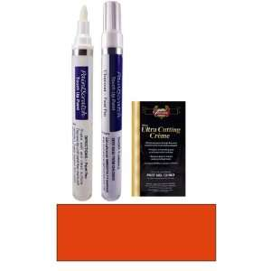 1/2 Oz. Bright Orange Pearl Metallic Paint Pen Kit for
