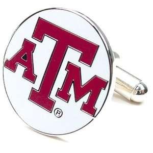 Texas A&M Aggies NCAA Logod Executive Cufflinks w/ Jewelry Box by