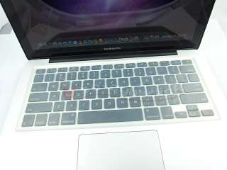 Clear Solid keyboard cover skin for New Macbook pro 13