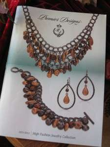 2011  2012 Premier Designs Jewelry collection Catalog Brochure New 100