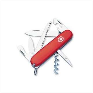 Victorinox Swiss Army Camper Multi Tool Pocket Knife in Red 53301