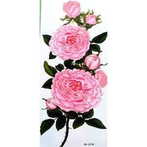 YiMei Enchanting waterproof tattoo sticker color flowers