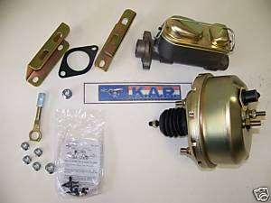 1965 1966 Mustang Power Brake Upgrade Kit for Disc/Drum