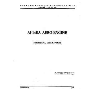 14 RA Aircraft Engine Technical Manual   1972 Ivchenko AI 14 Books