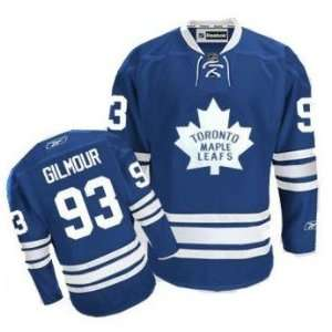 Toronto Maple Leafs Jersey #93 Doug Gilmour Blue Hockey