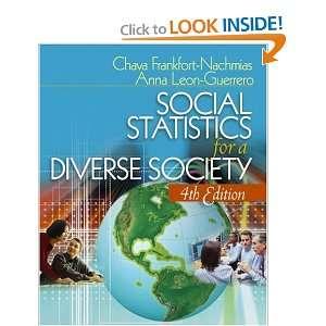 9781412915182): Chava Frankfort Nachmias, Anna Leon Guerrero: Books