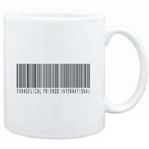 Mug White  Evangelical Friends International   Barcode