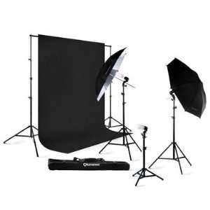 Lumenex Studio 420 Watt Photography Lighting Light Kit