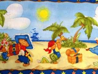 New Teddy Bear Pirates Treasure Chest Boys Childrens Island Sea Ship