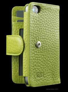 SENA APPLE IPHONE 4S WALLETBOOK LEATHER CASE