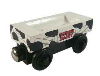 MILK BARREL CAR Thomas Friends Tank Train Wooden HC263