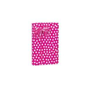 Hot Pink & White Polka Dot Gift Wrap Wrapping Paper 16