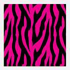 Pink & Black Craft Vinyl Decal 1 Sheet 12x36 Perfect for Crafting