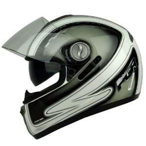 PGR DV100 CHAMPION Dual Visor DOT APPROVED Motorcycle Full Face Helmet
