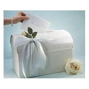 Elegant Italian Chest Wishing Wells Wedding Card Box: