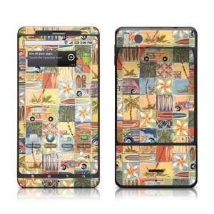 Tropical Woodies Design Protective Skin Decal Sticker for
