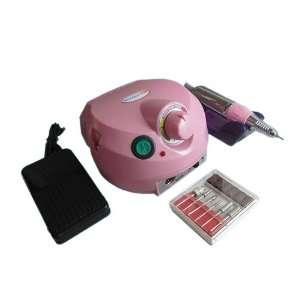 Glazing Machine Electric Drill Nail Art Manicure Pedicure Pink Beauty