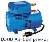 Paasche AirBrush D500S Air Brush Compressor 1/10 H.P.