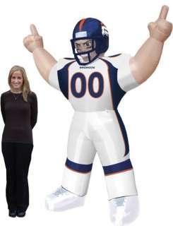 DENVER BRONCOS NFL Mascot Blow Up Lawn Yard Player