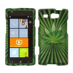 Premium   Samsung Focus Flash i677 Transparent Green Leaf