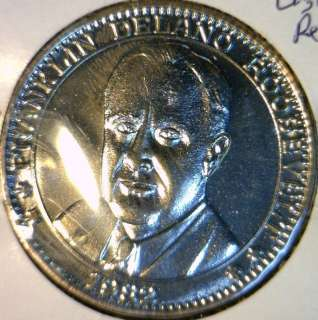 1982 Franklin Roosevelt Commemorative Double Eagle Reverse Medal