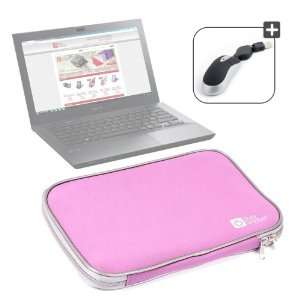 Laptop Case Compatible With Sony Vaio VPCSB1V9E, Includes USB Mini