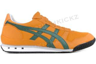 Asics Onitsuka Tiger Ultimate 81 HN567 3084 New Women Orange Green