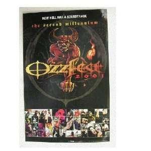 Ozzy Osbourne Ozzfest Poster