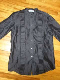 Chloe blouse tunic dress shirt top tuxedo