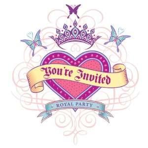 Princess Birthday Party Invitations Health & Personal