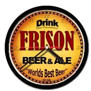 FRISON beer and ale cerveza wall clock: Everything Else