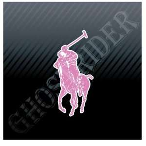 Polo Ralph Lauren Pink Luxury Clothing Emblem Car Trucks