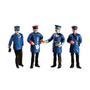 LGB G Scale Train Crew Figures   Package of Four: Toys