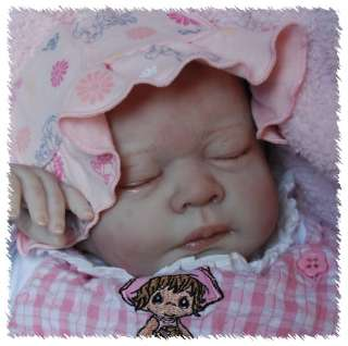 Reborn GENA ooak doll lifelike fake art ARTIST Baby CUSTOM Michelle