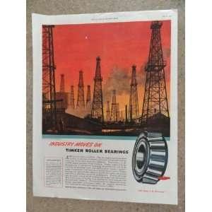 oil rigs) Original vintage 1946 The Saturday Evening Post Magazine