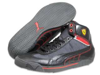 PUMA Men Speed Cat 2.9 Mid SF Black Red Shoes