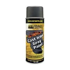 OER HIGH TEMP EXHAUST COATING CAST IRON GRAY: Automotive