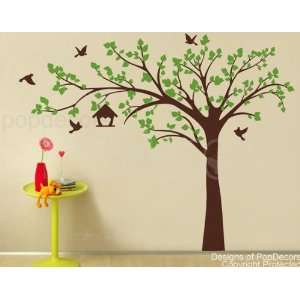 Authentic Only from PopDecors Big tree with love birds(100
